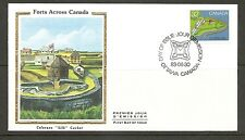 Canada SC # 991 Fort At Coteau-Du-Lac, Quebec FDC. Colorano Silk Cachet