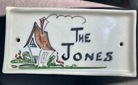 rare  California pottery by Von S. Carmel, The Jones.