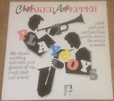 CHET BAKER & ART PEPPER playboys 1983 UK BOPLICITY VINYL RE LP