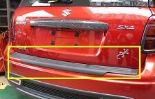 Black Rear Bumper Protector For 2007-2013 Suzuki SX4 Crossover ( Hatchback )