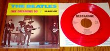 THE BEATLES  LIKE DREAMERS DO PICTURE SLEEVE WITH RED COLORED VINYL  PROMO 45