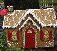 Gingerbread House Cottage Fairy Fairies Miniature World Vivid Arts NOW £25.00