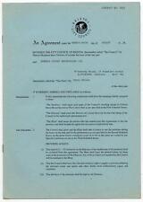 Traffic Steve Winwood Colston Hall Bristol Hiring Agreement 3/10/94