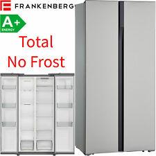 Frankenberg Total NoFrost Side-by-Side Kühl-Gefrierkombination Edelstahl Look A+