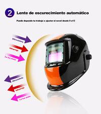 Máscara de Soldadura Eléctrica/Casco/Soldador/Soldadura Lente Auto Oscurecido