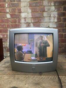"Vintage Toshiba 14N51B Crt TV 14"" inch Television Retro Gaming Working No Remote"