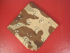 "US Army/USMC 6-Color Desert Camouflage ""Chocolate Chip"" Bandana - MINT Unissued"