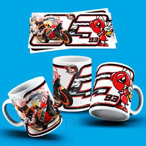 M MARQHEZ - MOTO GP  COFFEE & TEA 11oz MUG - PERFECT GIFT BIRTHDAY