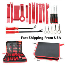 22Pcs Car Stereo Audio Radio GPS Removal Door Trim Dash Panel Removal Tools -USA