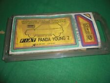Fiat Panda 2 Series Stickers Kit Car Body Young Green Original