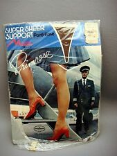 Vintage Woolco Woolworth Monvelle Primrose Panti Hose Pilot Admiring Legs Cover