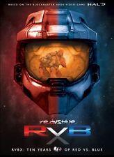 RVBX TEN YEARS OF RED VS BLUE New 14 DVD Seasons 1 2 3 4 5 6 7 8 9 10 Halo