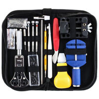 147Pcs Watch Repair Tool Kit Watchmaker Back Case Opener Link Spring Bar Remover