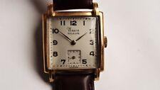 UNION SOLEURE art deco tank vintage watch RARE
