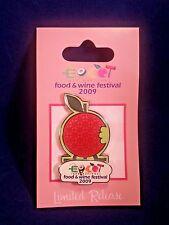 Disney Epcot International Food and Wine Festival 2009 - Logo Pin 73226