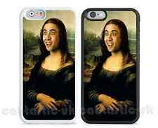 case,cover for iPhone,iPod>Nicolas Cage Mona Lisa head design,Funny Meme,novelty