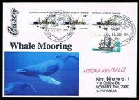 Antarctica • Australia • 2014 • Cover to Australia • Casey / Whale Mooring