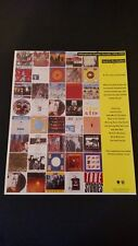 Talking Heads Popular Favorites 1976-1992 Rare Original Print Promo Poster Ad