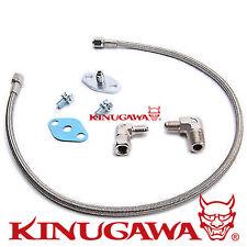 Kinugawa Turbo Oil Feed Line Kit DSM VR-4 EVO w/ Garrett T3 T4 T04B T04E T04S