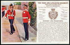 Yorkshire Single Printed Collectable Military Postcards