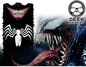 Venom Face Mask Bandanna Marvel Outdoor Sports Motorcycle Hunting Neck Gaiter