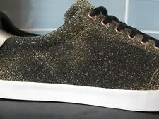 ZARA MAN gold glitter trainers/shoes, UK8, Eu42.5. New.