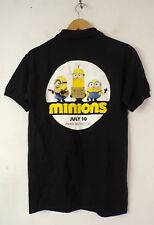 Regal Entertainment Group Coca-Cola MINIONS Movie Promo July 10 Polo Shirt Small