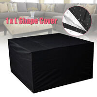 Cube Table Furniture Rattan Covers Lounger Cover Waterproof Outdoor Garden  A!
