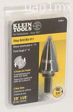 NEW  Klein Tools KTSB11 Step Drill Bit # 11