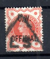 GB QV 1/2d vermillion OW Official fine used O31 WS16709