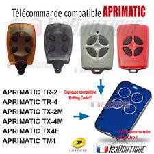 TELECOMMANDE PORTAIL REMPLACEMENT APRIMATIC COMPATIBLE TR   TX-M TX4E TM4  BIP