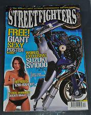 Streetfighters # 106 Dec 2002 - SV650, Z1000, Ducati 900SS + Original Poster