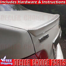 2009-2010 Toyota COROLLA JDM Lip Factory Style Spoiler Wing UNPAINTED