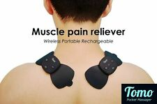 TOMO massager Electric Muscle Stimulator Electronic Pulse Tense EMS