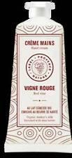 Crème pour les mains vigne rouge 50ml au lait d'ânesse bio