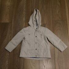 Girls Cream Age 5-6 Zara Jacket Coat