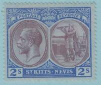 ST KITTS & NEVIS 32 SG32 MINT  HINGED OG * NO FAULTS EXTRA FINE !