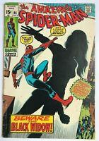 Amazing Spider-Man #86 - Black Widow Marvel Comics