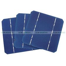 20pcs 5x5 Mono Solar Cell High Power for DIY 50W 12V Solar Panel 2.6W/pc Gift