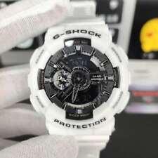 New G-Shock Men's Watch White Strap Digital Chronography Watch GA110GW-7A