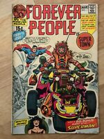 FOREVER PEOPLE #1 DC MOVIE 1st Full DARKSEID Fine 1971 JACK KIRBY 4th World