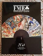 Rivista d'arte FMR (mensile di Franco Maria Ricci - n°43   1986   1/16