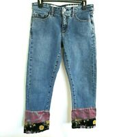 Pilcro And The Letterpress Anthropologie Slim Boyfriend Size 27 Denim Jeans