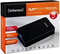 Intenso HDD externe Festplatte Memory Center 3,5 Zoll 4TB USB 3.0 schwarz