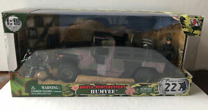 DISCONTINUED 1/18 World Peacekeepers Humvee Green SEALED!! NEW IN BOX