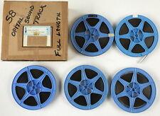 Super 8mm Sound Film - Conduct Unbecoming - Five 400' Reels Optical Sound