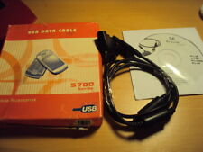 NEW DATA CABLE USB  FOR OLD RETRO  SONY ERICSSON S SERIES S700I