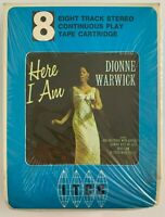 NOS Dionne Warwick Here I Am 8 Track Stereo Tape Specter SEALED