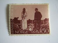 NORGE-Norvège  -1963- n°526-100th  birth Edward MUNCH TIMBRE-STAMP-MNH**