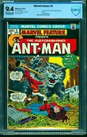 Marvel Feature #9 CBCS NM 9.4 Off White to White Comics